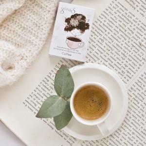Face and body scrub bar  COFFEE
