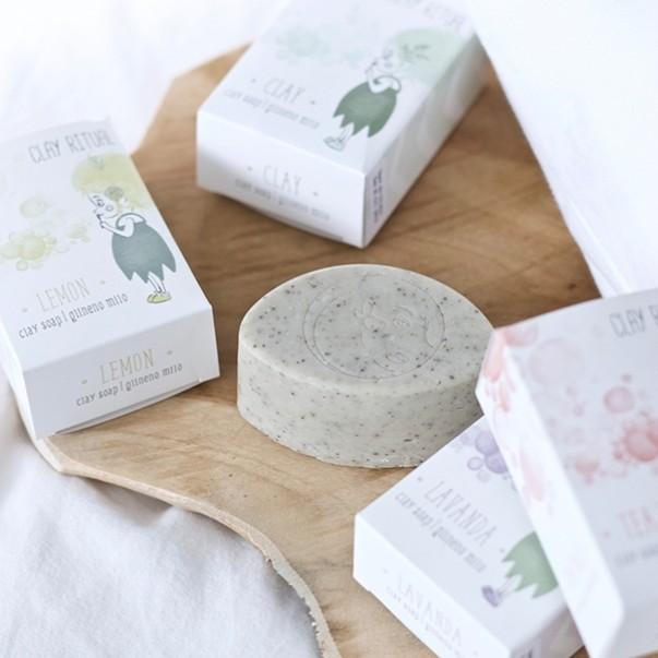 GlinaSi clay soap Clay