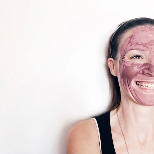 GlinaSi facial mask ROSE
